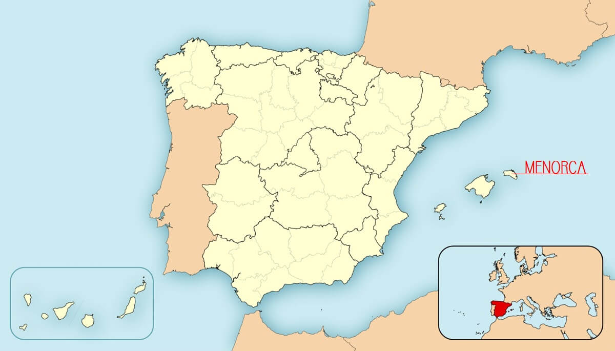 menorca スペイン メノルカ島